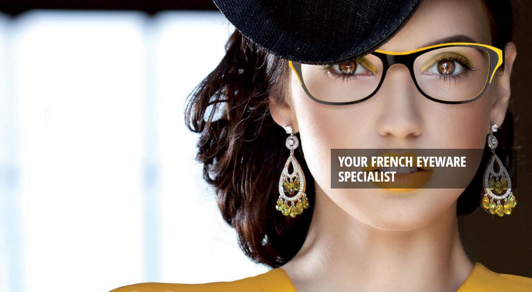 Yellow Funky Eyeglasses