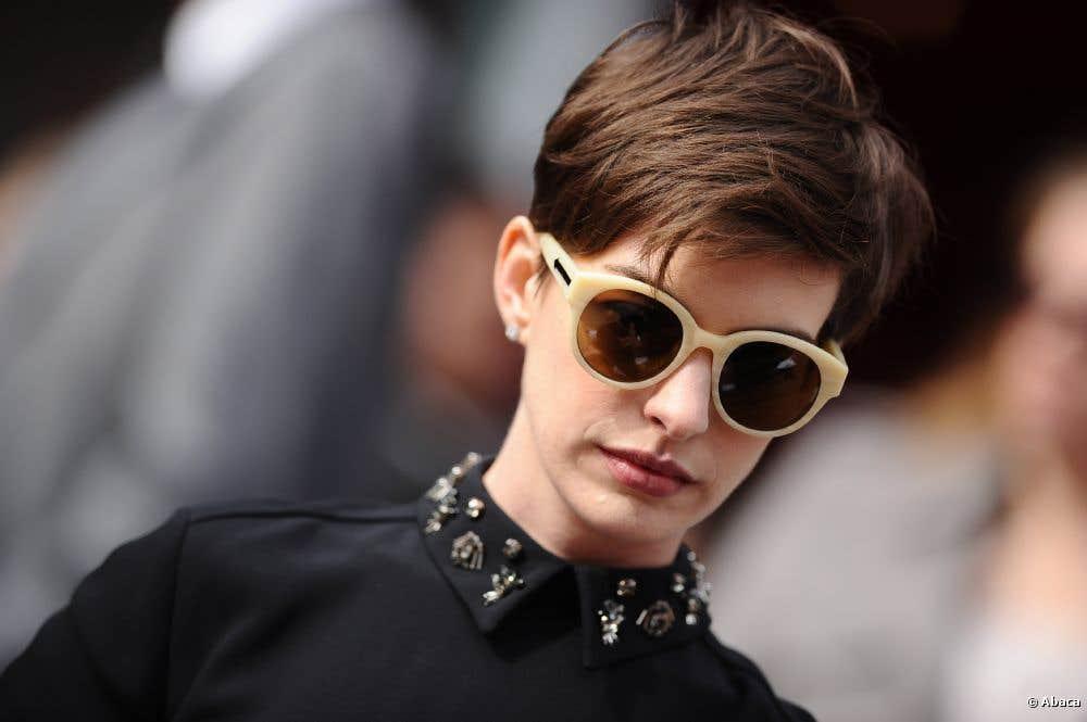 Anne Hathaway Eyeglasses