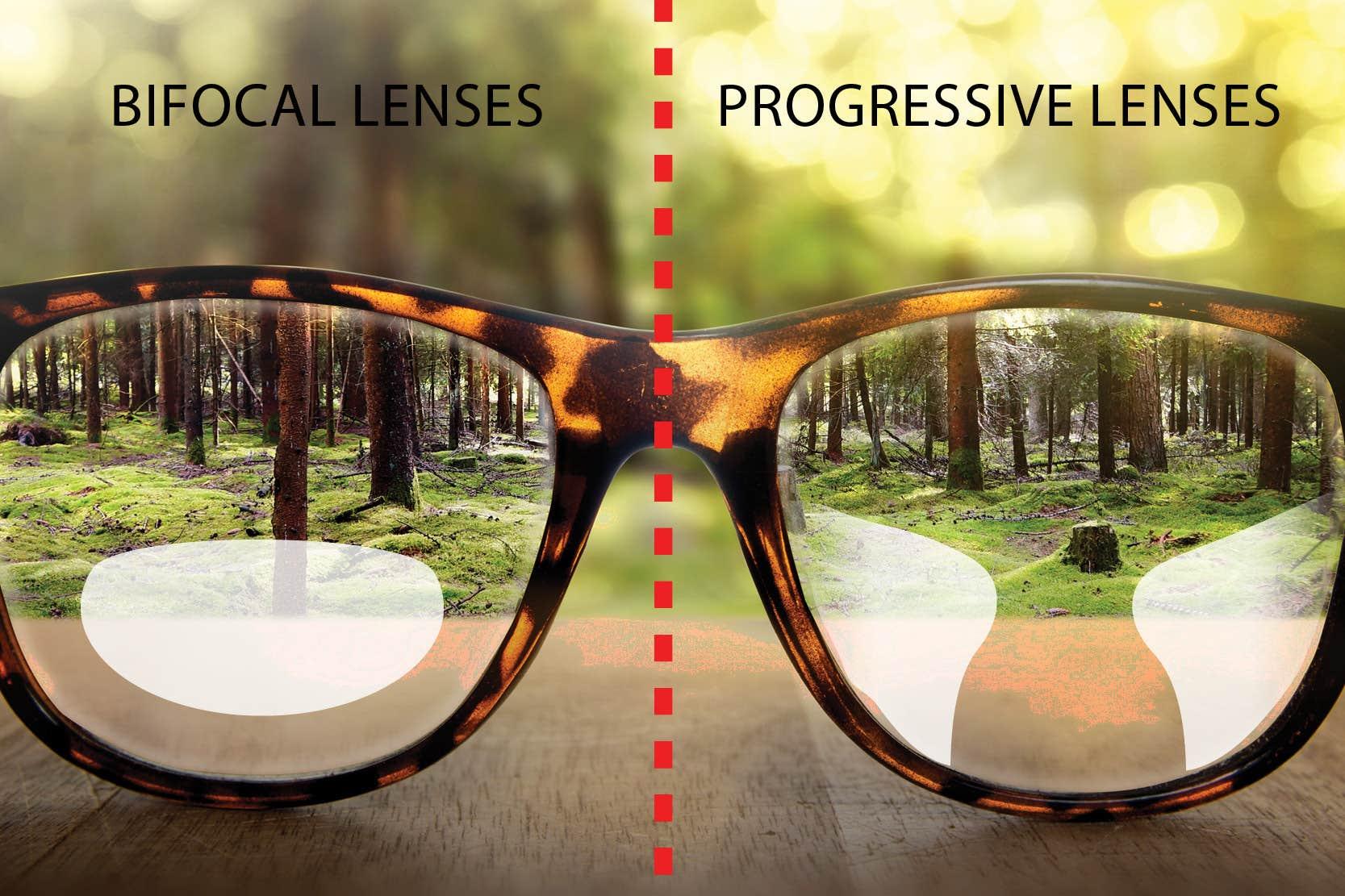 Progressive Lenses Versus Bifocals Lenses