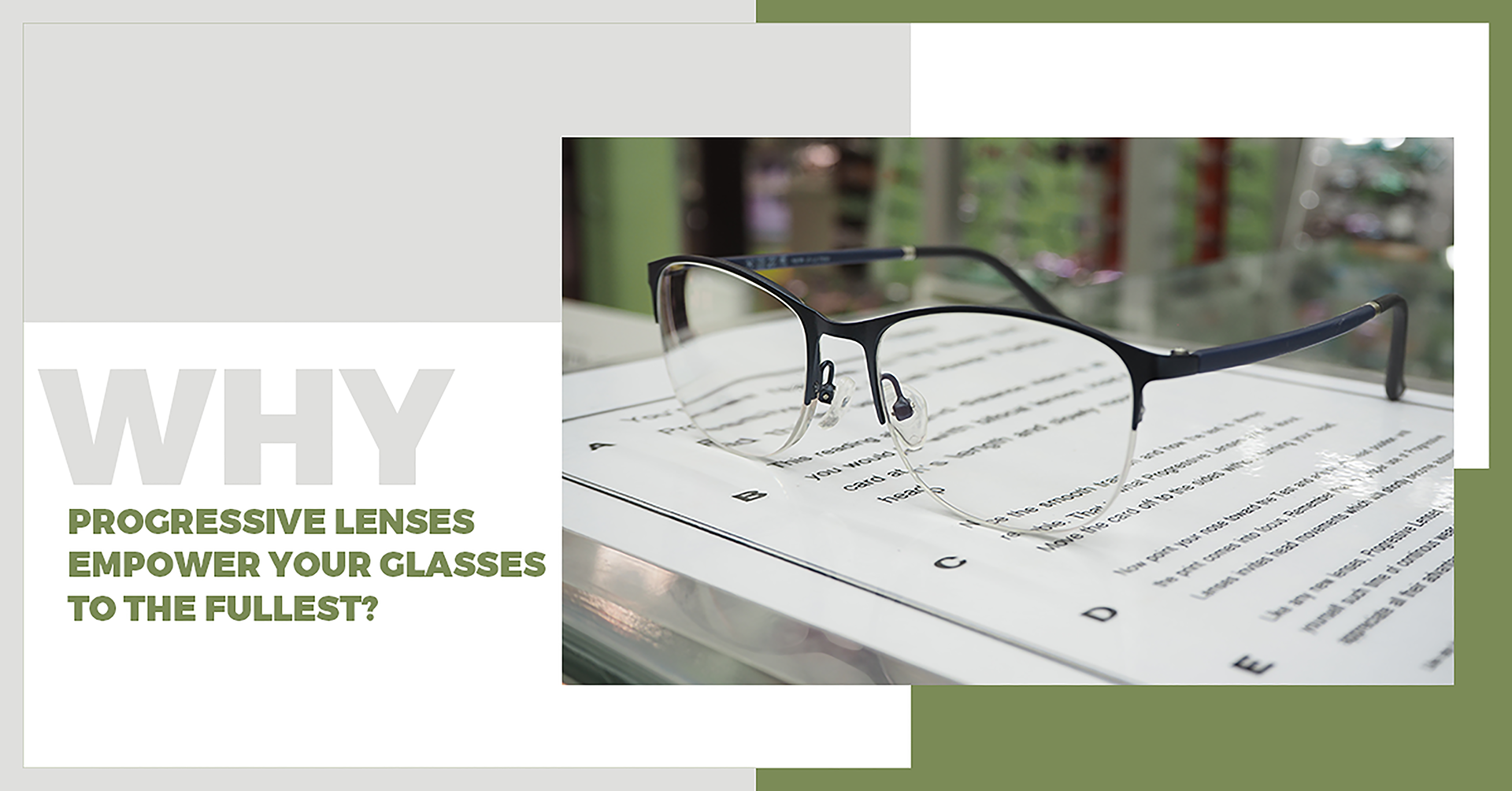 10) WHY PROGRESSIVE LENSES EMPOWER YOUR GLASSES TO THE FULLEST?