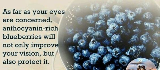Blueberries for healthy eyes