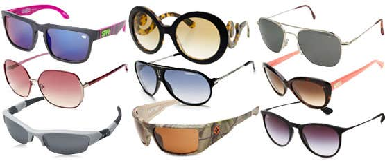 Complete Range of Sunglasses