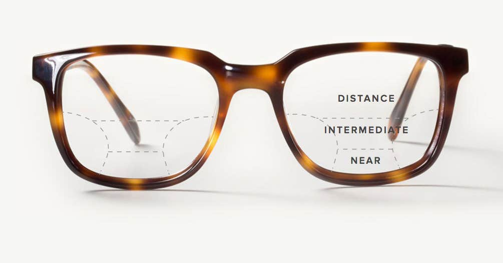 Distance Eyeglasses