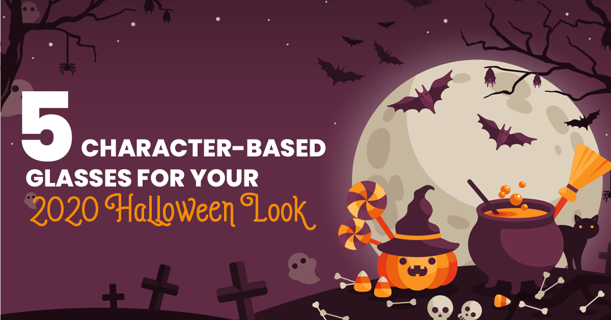 5 Character-Based Glasses For Your 2020 Halloween Look