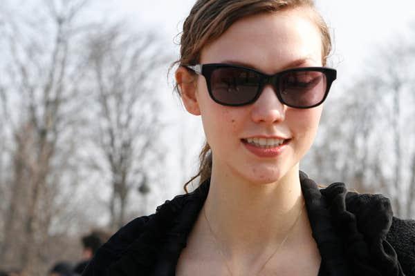 Karlie Kloss eyeglasses