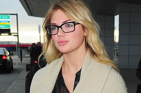 Kate Upton eyeglasses