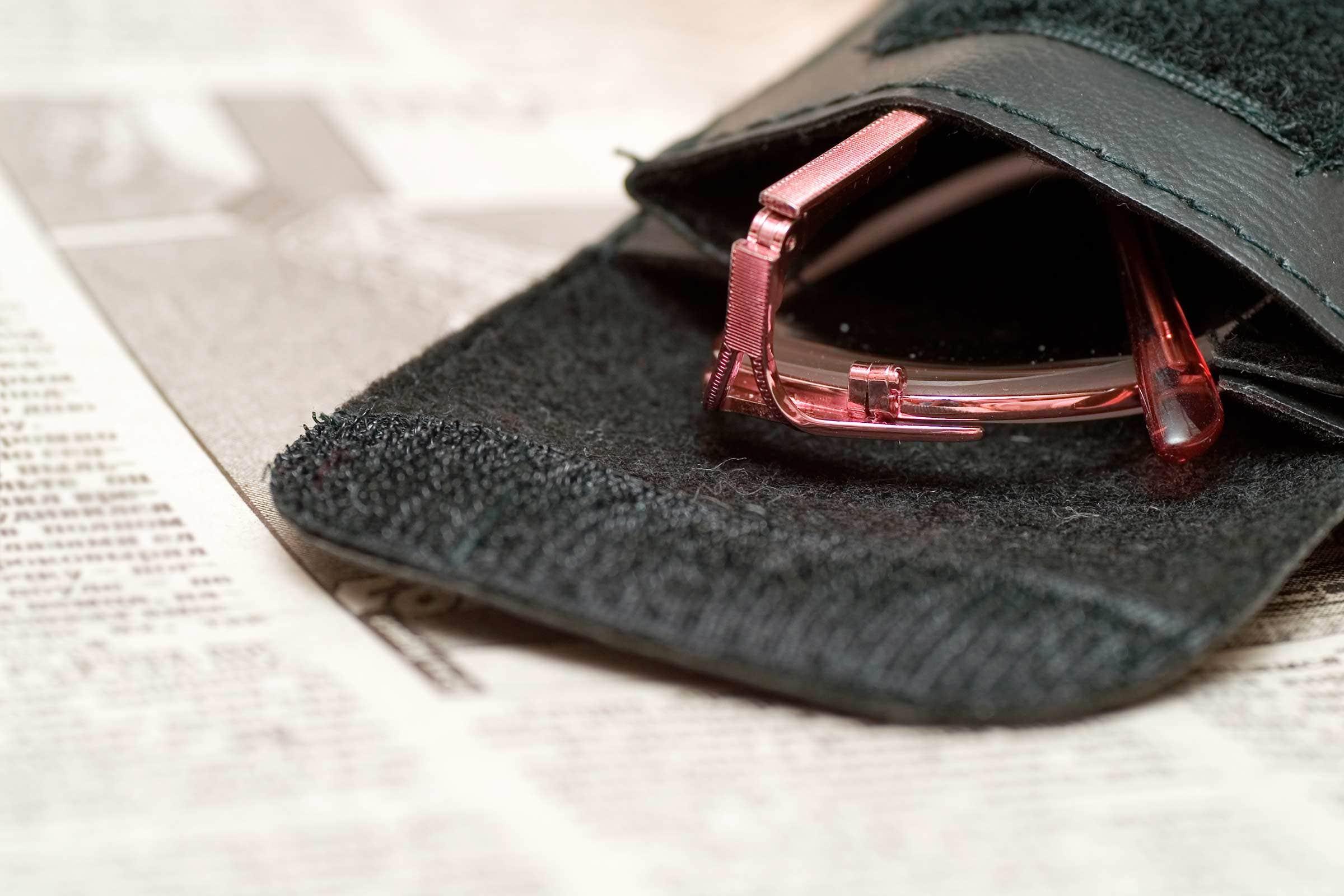 keep eyeglasses in cases