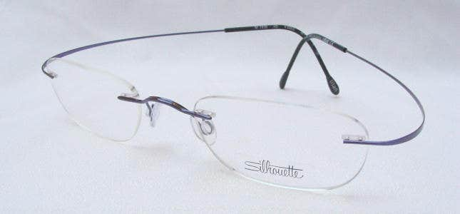 Flexible Titanium Eyeglass Frames