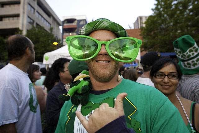 St Patrick Day Glasses