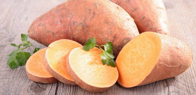 Sweet Potatoes for healthy eyes