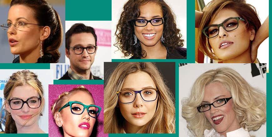 Top Celebrities Wearing Eyeglasses