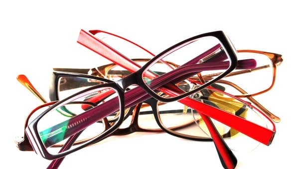 different shades of eyeglasses